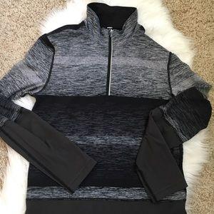 Lululemon space dye half zip pullover large